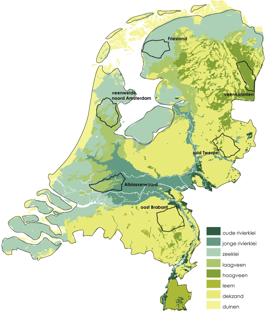 Kaart Nationaal deel1