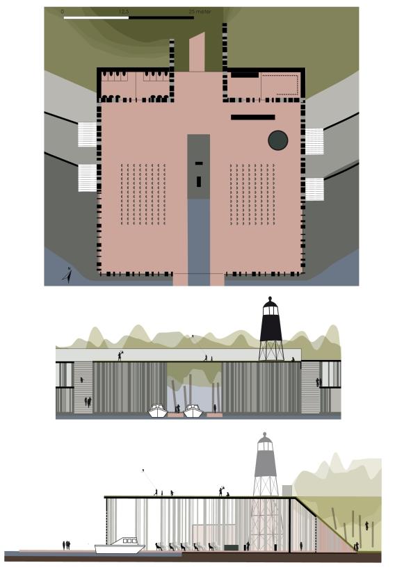VTE schetsontwerp 1op500 bastion detail portfolio